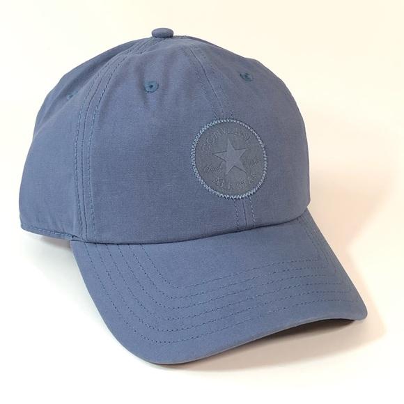 Converse All Star Baseball Hat Cap Slate Gray Blue NWT